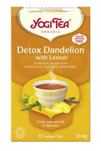 Yogi Tea Detox z cytryną DETOX WITH LEMON