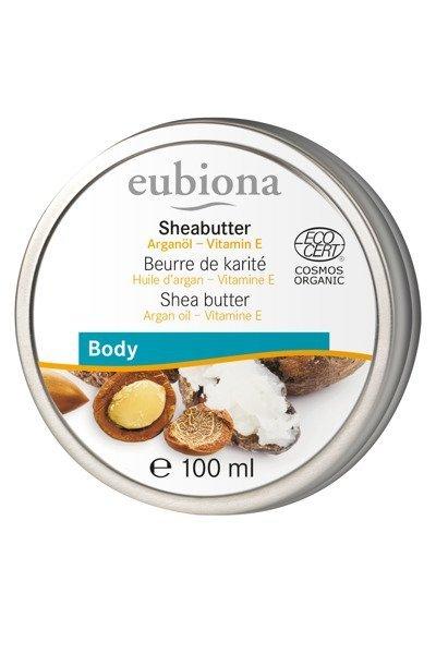 Masło Shea z olejem arganowym i witaminą E 100 ml