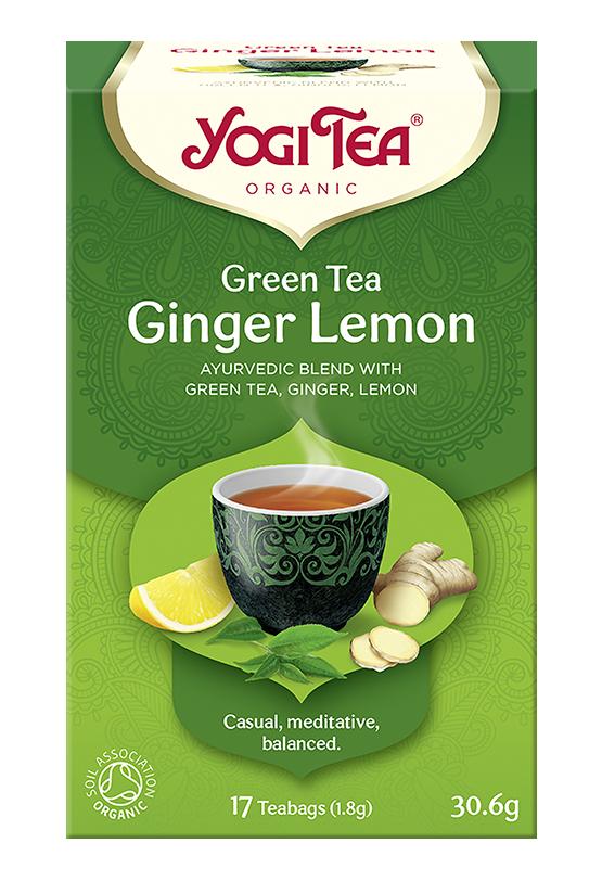 Yogi Tea Zielona imbirowo-cytrynowa GREEN TEA GINGER LEMON