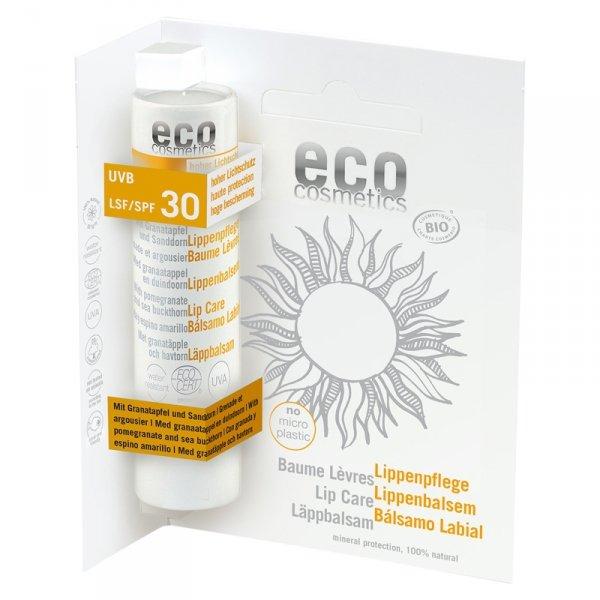 Eco Cosmetics Balsam do ust w sztyfcie SPF 30, 4 g