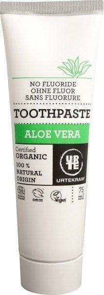 Urtekram Pasta do zębów z aloesem bez fluoru 75 ml