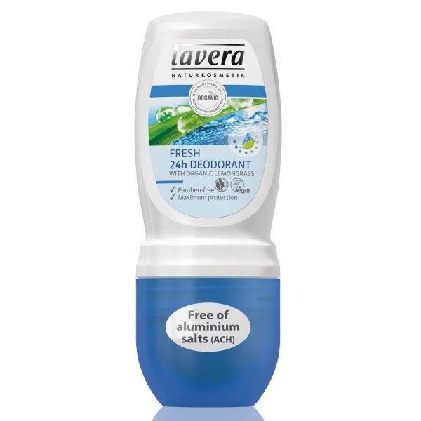 Lavera Dezodorant roll-on FRESH Odświeżający 50 ml
