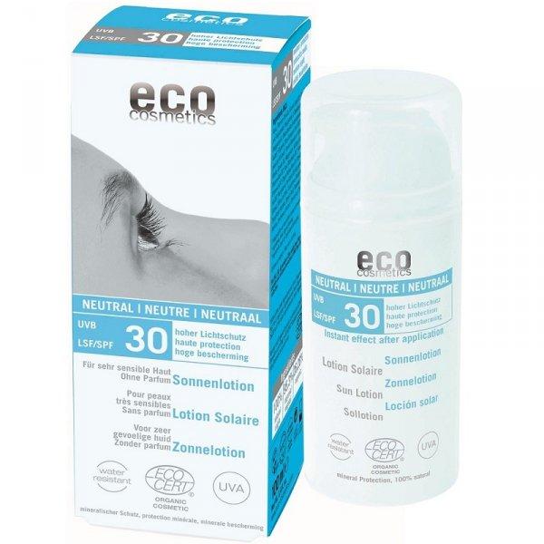 Eco Cosmetics Emulsja na słońce SPF 30 NEUTRAL 100 ml