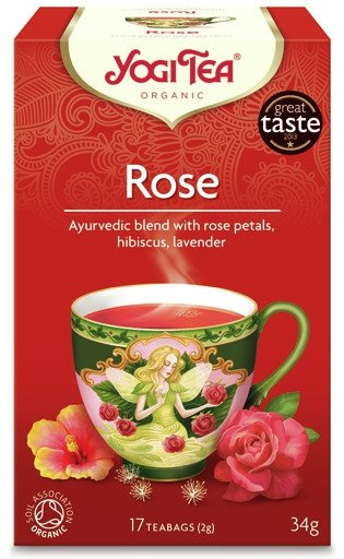 Yogi Tea Różana ROSE