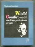 Kępiński Tadeusz - Witold Gombrowicz studium portretowe drugie