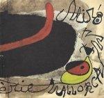 [katalog]. Cirici Alexandre - Joan Miro. La Serie Mallorca