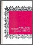 Blok-Notes Muzeum Literatury im. Adama Mickiewicza 1999 12/13