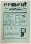 CEMENT. Organ Związku Polskich Fabryk Portland-Cementu. R. 2, nr 7: VII 1931.