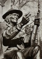 Stapiński Bronisław - Góry - Zakopane - figura siedzącego górala - Sabały.