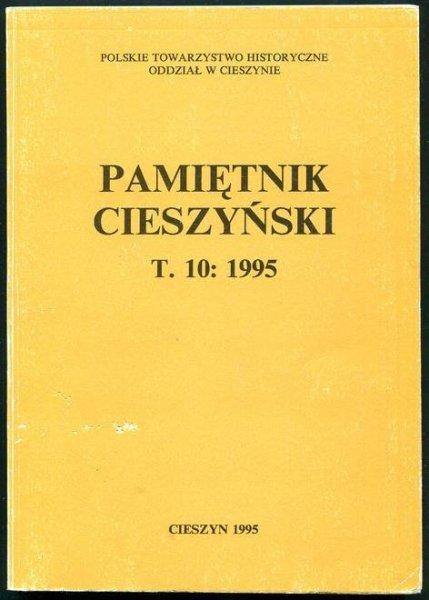 Pamiętnik Cieszyński. T.10: 1995