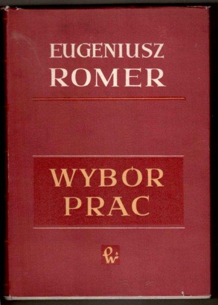 Romer Eugeniusz - Wybór prac, t.1-4