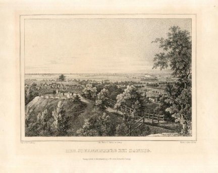 GDAŃSK. Der Johannisberg bei Danzig.