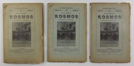 Kosmos. Czasopismo Polskiego Towarzystwa Przyrodników im. Kopernika. Serja A - Rozprawy. R. 61: 1936, z. 1-4 [w 3 wol.]