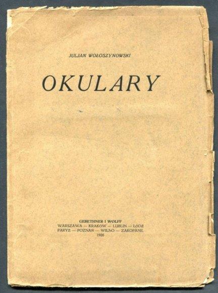 Wołoszynowski Jan - Okulary.