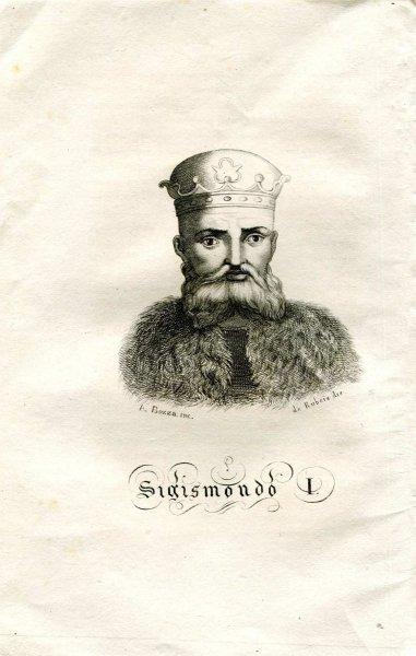 [Zygmunt I] Sigismondo I - miedzioryt 1831