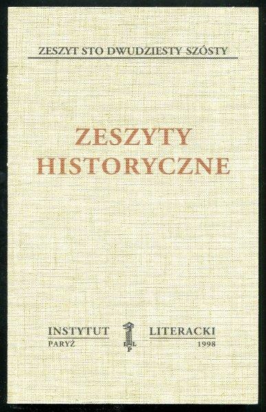 Zeszyty Historyczne. Z. 126.