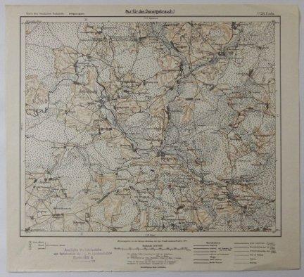 U28. Usda - mapa 1:100 000 [Karte des westlichen Russlands]