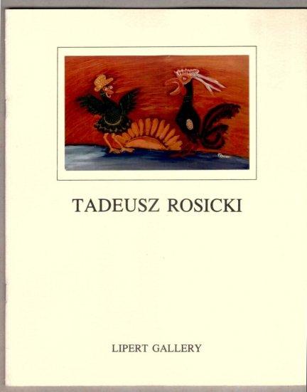 Lipert Gallery. Tadeusz Rosicki. Paintings