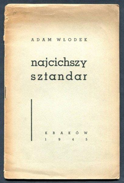 Włodek Adam - Najcichszy sztandar. [dedykacja autora]