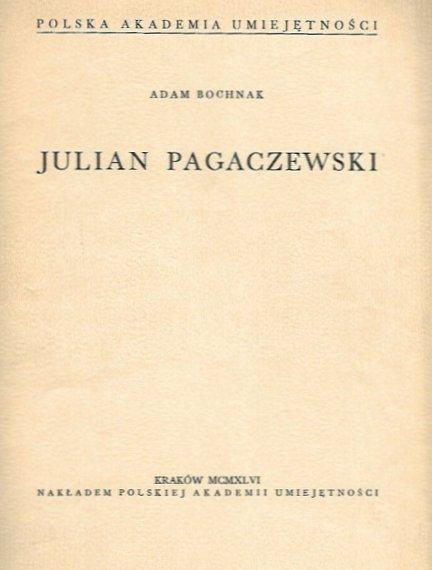 Bochnak A.dam - Julian Pagaczewski