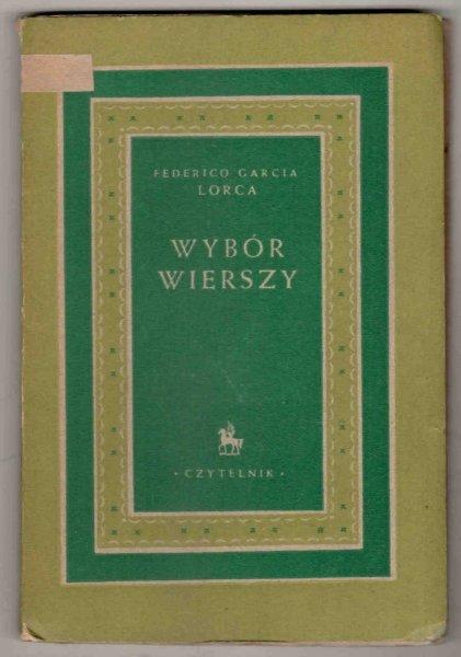 Lorca Federico Garcia - Wybór wierszy