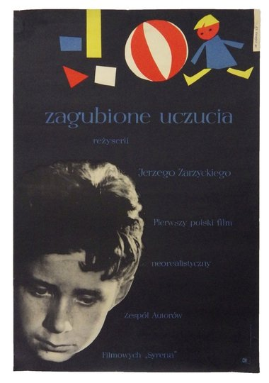 Górka Wiktor - Zagubione uczucia - plakat filmowy