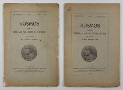 [CHINY] Kosmos. Serja B. Przegląd zagadnień naukowych. R. 57: 1932, z. 1-4 (w 2 wol.)