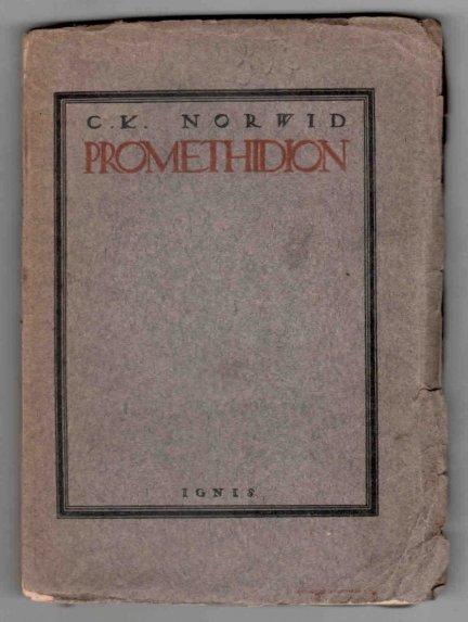 Norwid Cyprian Kamil - Promethidion.