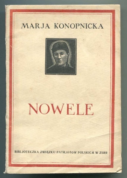 Konopnicka Marja - Nowele.