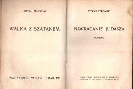 Żeromski Stefan - Nawracanie Judasza. Powieść.