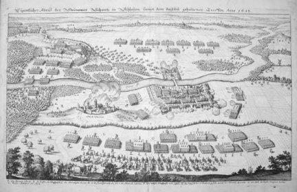 ŚCINAWA. Eigentlicher Abriss der Steinawer Schantz in Schlesien, sampt dem daselbst gehaltenen Treffen Anno 1633.