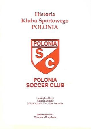 Historia Klubu Sportowego Polonia. Polonia Soccer Club