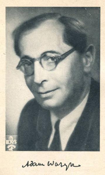 Ważyk Adam - Wiersze 1940-1953. Okładkę proj. J.Jaworski