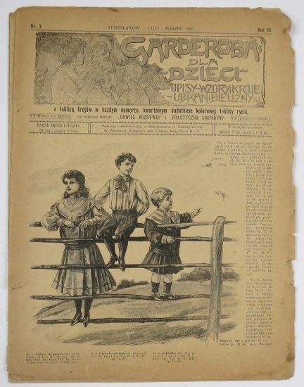 Garderoba dla Dzieci. R. III, nr 3: II i III 1905.