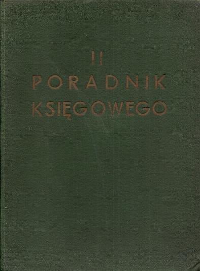 II Poradnik Księgowego.