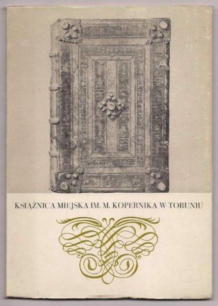 Tujakowski Alojzy - Książnica Miejska w Toruniu. Informator. 1983.