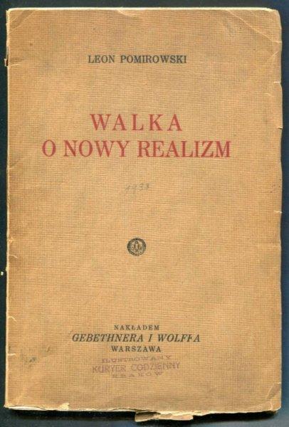 Pomirowski Leon - Walka o nowy realizm
