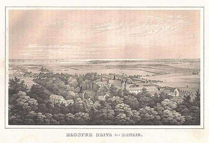 GDAŃSK. Kloster Oliva bei Danzig.