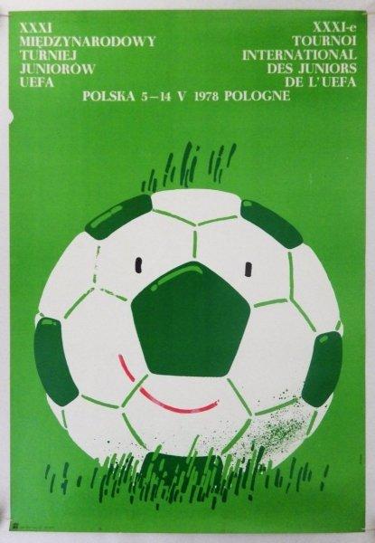 Świerzy Waldemar - XXXI Międzynarodowy Turniej Juniorów UEFA. Polska 5-14 V 1978 - plakat