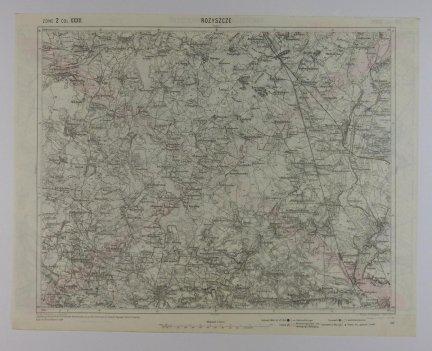 Rożyszcze - mapa 1:75 000