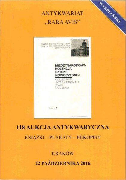 KATALOG AUKCYJNY - AK118