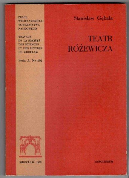 Gębala Stanisław - Teatr Różewicza