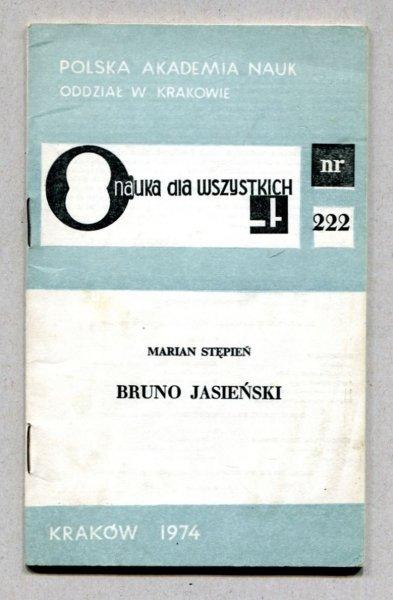 Stępień Marian - Bruno Jasieński