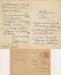 [MĄCZYŃSKI Franciszek]. Zestaw 4 listów do Leopolda Winnickiego (3 szt.) i niezidentyfikowanej osoby (1 szt.) z l. 1919-1921.