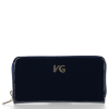 Skórzany Portfel Damski VITTORIA GOTTI Made in Italy Granat
