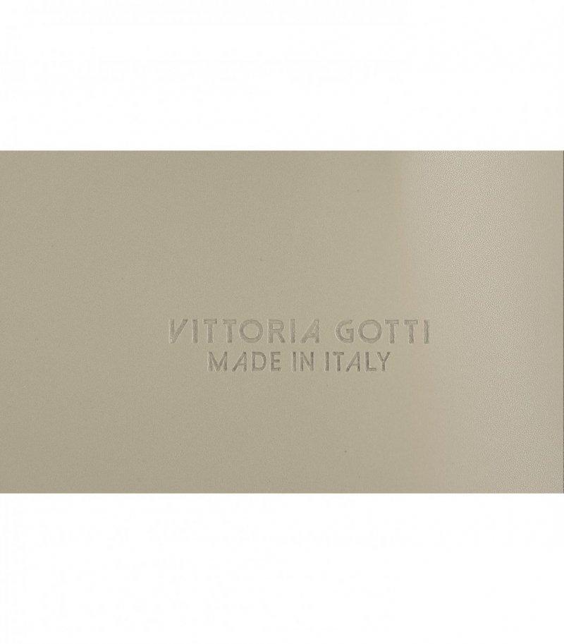 Torebka Skórzana VITTORIA GOTTI Made in Italy Ziemista