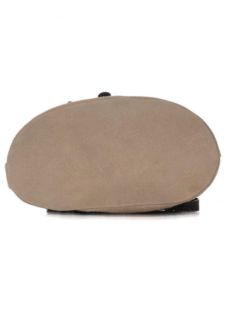 Plecak Skórzany VITTORIA GOTTI Made in Italy Ziemista