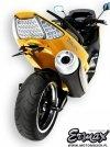 Mocowanie tablicy rejestracyjnej ERMAX UNDERTAIL Yamaha TMAX 500 2008 - 2011
