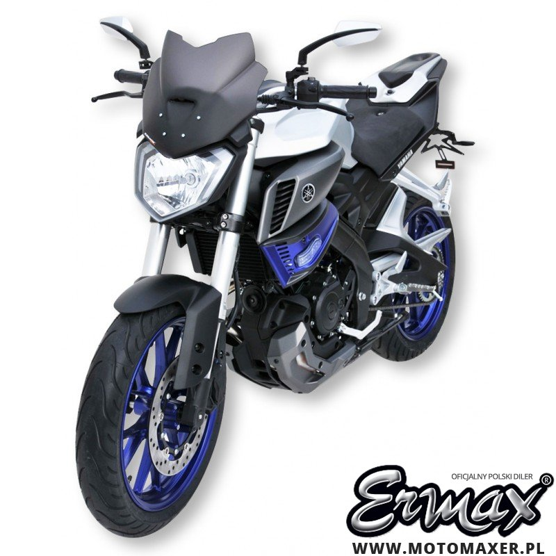 Szyba ERMAX SPORT 27,5 cm Yamaha MT-125 2014 - 2019