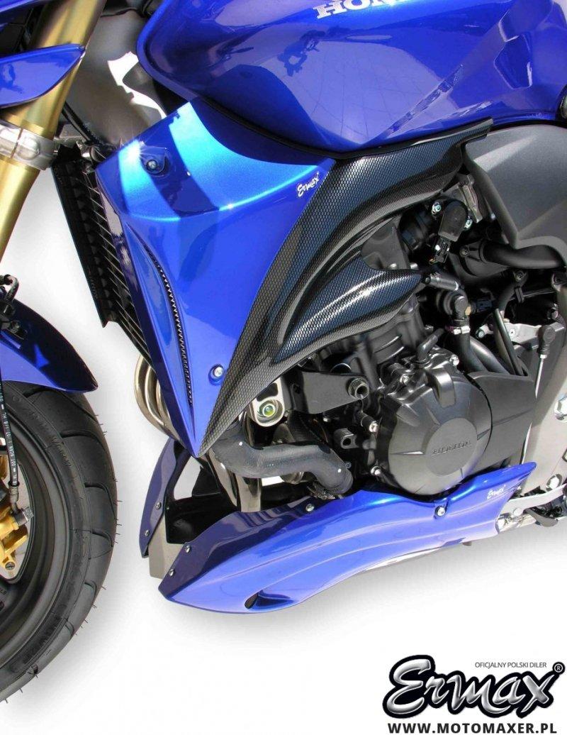 Wloty powietrza osłona chłodnicy BICOLOR AIR SCOOP ERMAX Honda CB600 HORNET 2007 - 2010